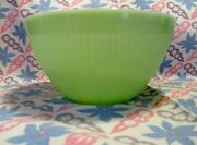 Vintage Fire King Jadeite 7 1/2 Ribbed Mixing Bowl In Excellent Condition