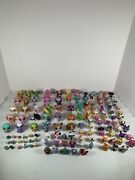 Hasbro Lps Littlest Pet Shop Huge Lot 123 Pets All Sizes See Pics Very Rare