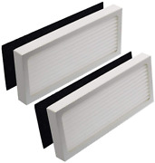 2-sets Hepa Filter And Activated Carbon Pre Filter For Hamilton Beach Trueair 04