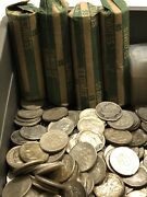 Lot Of 200 Roosevelt Silver Dimes 90. 4 Full Rolls Of Higher Grade Coins
