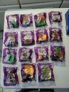 2001 Lot Of 15 Burger King Toys Simpsons Treehouse Of Horror Figures Halloween