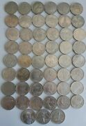 Commemorative Ruble Coins Ussr 1965-1991 Full Set Of 64 Coins