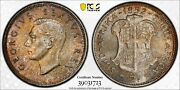 1952 South Africa 2 Shillings Pcgs Pr66 Proof Mintage 16k Nice Toning  1122