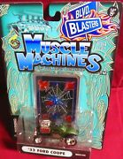 1933 Ford Coupe Green Blvd Blasters Black Widow Muscle Machines 1/64