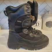 Cabelas Dry-plus Hunting Winter Boots Us 11d Thinsulate Ultra Black 83-1287