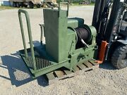 Dp 45,000lb 45k Rated Hydraulic Winch The Tank M916 A3 Recovery Skid Steer