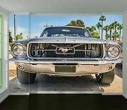 3d Ford Mustang O567 Transport Wallpaper Mural Self-adhesive Removable Amy