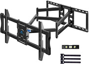 Tv Wall Mount Bracket Full Motion Swivel Articulating For Most 50-90 Inch Lcd
