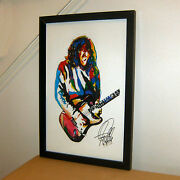 John Frusciante Red Hot Chili Peppers Guitar Music Print Poster Wall Art 11x17