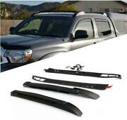 New Car Roof Racks Luggage Carrier 125 Lbs For 2005-19 Toyota Tacoma Double Cab