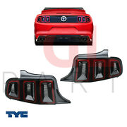 For Ford Mustang 2013 - 2015 Rear Led Tail Lamp Light Usa Type Pair Set Sae New