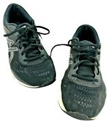 Asics Gel-excite 6 1012a154 Running Shoes Women's Size 10 Wide Black White Foam