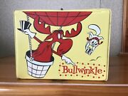 Vintage Bullwinkle Lunchbox No Thermos