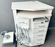 Ross Orthodontic 0802 Mobile Rolling Dental Delivery Cart And Supply Cabinet Jbox