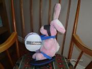 Energizer Canada Bunny Stuffed Plush Toy Large 16 Inch With Drum