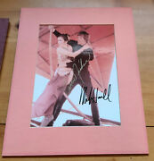Carrie Fisher And Mark Hamill Signed Revenge Of The Jedi Photo