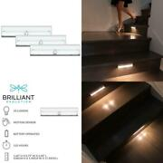 Wireless Led Stair/path Light With Motion Sensor 3-pack