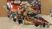 Lego Star Wars 8096 Emperor Palpatineand039s Shuttle 100 Comp Figures Manuals Box