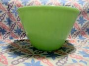 Vintage Fire King Jadeite 7 1/2 Splash Proof Mixing Bowl In Excellent Condition