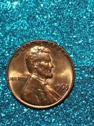 1963 P Double Die Obverse / Reverse Error Lincoln Cent Bu Unc Ms Coin Red
