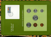 Coin Sets Of All Nations South Africa W/card Unc 1985-1986 1 Rand Km117 1985