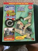 Limited Edition Evel Knievel Stunt Cycle White Trail Bike