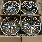22 New Chrome Style Wheels Rim For Mercedes Benz W222 W223 S Class Maybach