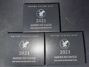 American Eagle 2021 One Ounce Silver Proof Coin Set Of 3 Ready To Ship