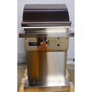 Tec Sterling Patio Fr 26-inch Infrared Natural Gas Grill On Stainless Pedestal