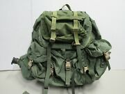 Us Large Alice Pack Rucksack Sf Seal Modified Quick Release Buckles W/ Frame