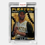 Topps Project 70 Card 407 - Roberto Clemente By Chuck Styles - Presale