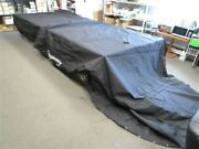 Suntracker Party Barge 254 Regency Double Canopy Cover 2014 35227-14 Black Boat