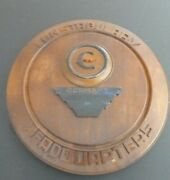 Very Fine United States Army Germany Constabulary Carved Wood Plaque Late 1940s