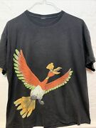 Vintage Pokemon Heart Gold And Soul Silver Shirt Adult L/m 21.5x25.5