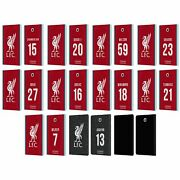 Liverpool Fc 2020/21 Players Home Group 2 Pu Leather Book Case Samsung Tablets