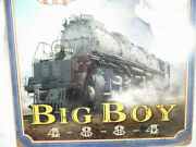 Union Pacific Big Boy Metal Sign 11.5 X 17.5 Ready To Roll 4023 Pinup New