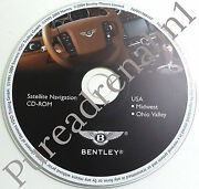 04 05 2006 Bentley Continental Gt Flying Spur Navigation Cd Midwest Ohio Valley