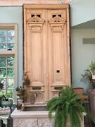 Antique Pair Of Doors 11' Tall Huge Architectural Salvage