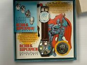 Dc Reign Of The Supermen Fossil Watch Andndash 1993 Andndash Nib With Coin Andndash Free S/h
