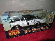 1958 Chevy Impala Illinois State Police Route 66 118 Opening Hood And Doors
