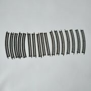 Bachmann N Scale Lot Of 17 Assorted Track Sections Train Track