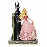 Jim Shore Disney Traditions Sorcery And Serenity Aurora And Maleficent 6008068 New