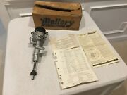 Nos Mallory Dual Point Tach Drive Distributor Yc-340-hp Ford Y-block 1955-1962