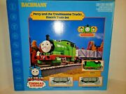 Bachmann Percy And The Trublesome Trucks Electric Train Set Thomas And Friends