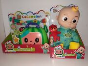 Cocomelon Musical Bedtime Jj Doll 10-inch Plush + Musical Doctor Checkup Set Toy