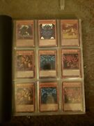 2000 Yugioh Binder Collection Holo Lot Of 180+ High End Cards New And Old Rare