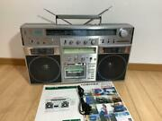Toshiba Rt-s90 Bom Beat Adres Stereo Radio Cassette Recorder 1980 Tested Japan