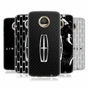 Official Ford Motor Company Lincoln Logos Gel Case For Motorola Phones