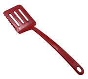 Robinson Ultratemp Red Slotted Spatula Serrated 2101-2 400°f Heat Made In Usa