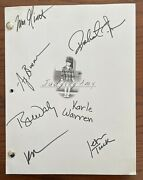 Original Judging Amy Script Signed By Cast - Lost In The System S4 E1